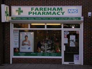 Fareham Pharmacy, 95 Highlands Road Fareham